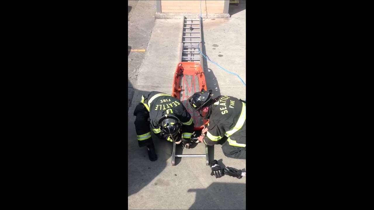 how to build a ladder slide for rescue