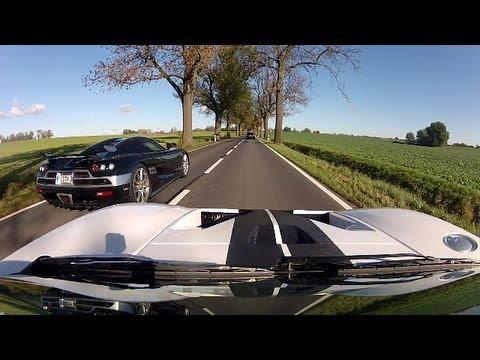 Ford GT + Koenigsegg CCX-R / Ausfahrt zum Saisonabschluss 2012