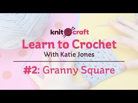 Learn to crochet a granny square   Knit & Crochet   Hobbycraft