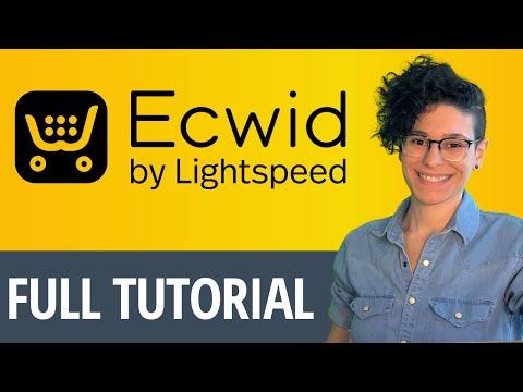 Ecwid Free ECommerce [NEW Webinar]
