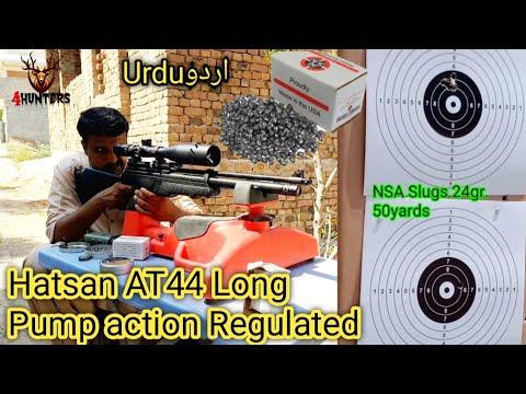 Hatsan AT44 Long pump action regulated .22 full reveiw in urdu