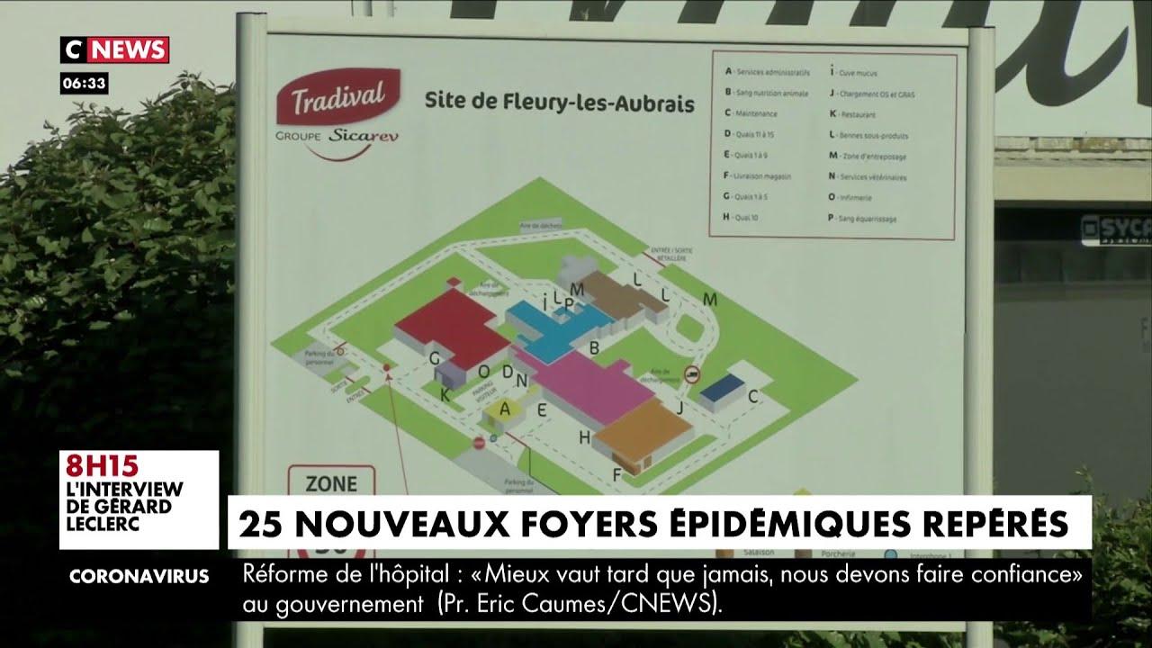 Déconfinement : 25 clusters repérés en France