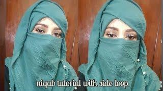 Most Beautifull and Elegent hijab/ niqab tutorial // zainab numan
