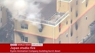 At Least 13 Killed In Kyoto Animation Studio Fire!