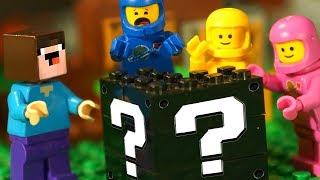 ЧЁРНЫЕ ◼️ Лаки Блоки и Лего НУБик Майнкрафт - LEGO MOVIE 2, Ninjago, Minecraft - Мультики