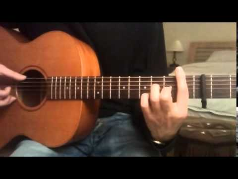 How to play She Moved Through The Fair by Bert Jansch. Guitar lesson. Part 1