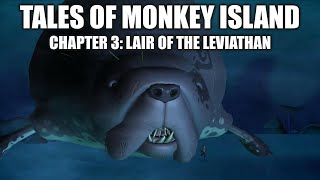 Tales of Monkey Island chapter 3 playthrough