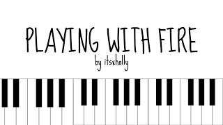 Here's a cover of playing with fire by black pink. i hope you like it! comment any requests and i'll see what can do! want to learn the piano? this is ...