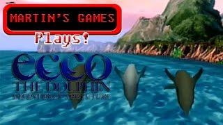 Ecco the Dolphin Defender of the Future (Sega Dreamcast Game Play)