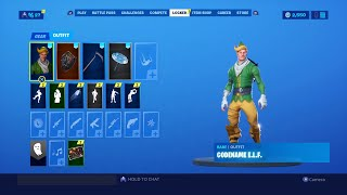 MON STACKED CODENAME ELF FORTNITE LOCKER!! (SKINS RARE)