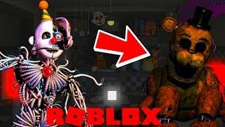 Playing as Ennard and Golden Freddy! Roblox Ultimate Random Night