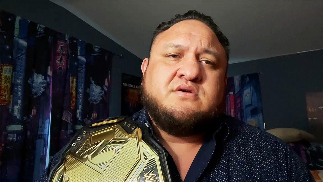 Samoa Joe explains the Future of the NXT Championship