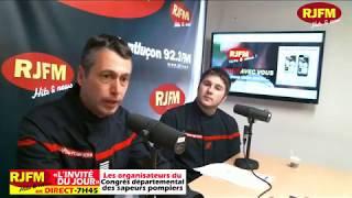 7h45 l'invité du jour : Les sapeurs pompiers du SDIS 03