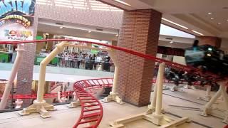 Primul roller coaster indoor din Romania - la Zorky's Planet in AFI Palace Cotroceni