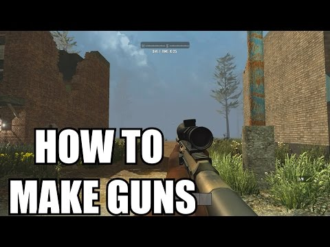7 Days To Die PS4 How To Make Guns - 7 Days to Die PS4 / Xbox One Gun Assemble Tips Gameplay