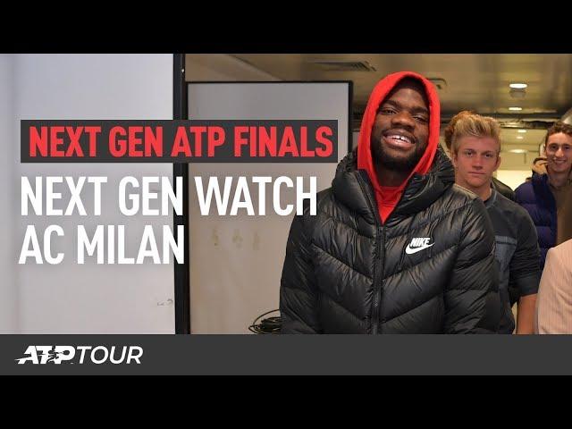 Next Gen Check Out AC Milan At San Siro | Next Gen ATP Finals
