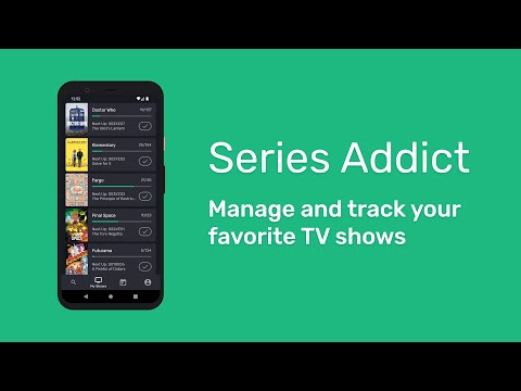 Series Addict: android app for TV series