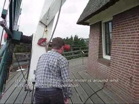 Molen van Sloten Windmill - Amsterdam