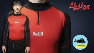 Обзор термобелья Alaskan Stalker и Master. Kamfish