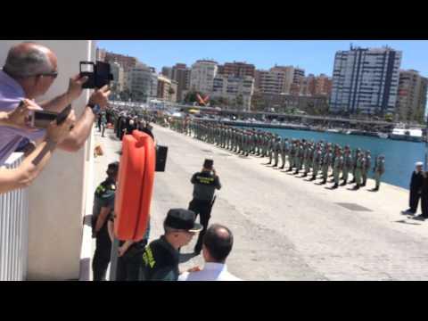 Homenaje al marino español Bernardo de Gálvez