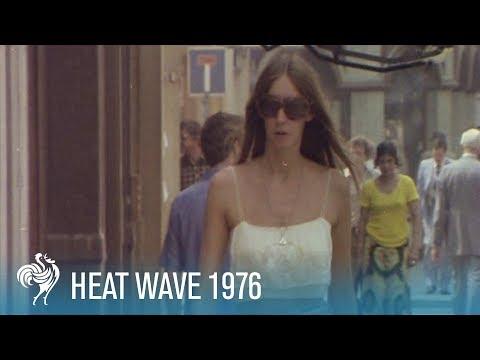 Heat Wave in London: Women's Summer Fashion (1976) | British Pathé