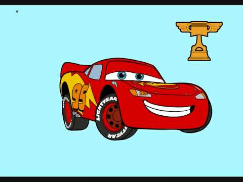 Disney Cars Coloring Cartoon - YouTube