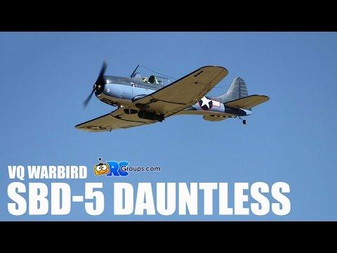 "Legend Models/VQ 81"" SBD-5 Dauntless 30cc ARF - RCGroups Review"