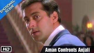 Aman Confronts Anjali - Emotional Scene - Kuch Kuch Hota Hai - Salman Khan, Kajol, Shahrukh Khan