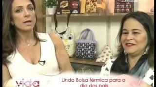 Bolsa Térmica Quadrada – por Renata Herculano