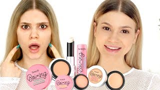 FIRST IMPRESSION   NEW BENEFIT BOI-ING CONCEALER COLLECTION REVIEW
