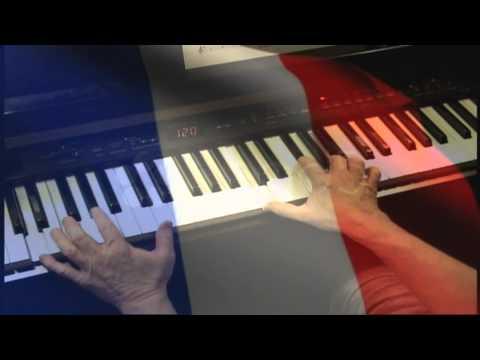 La Marseillaise – die französische Nationalhymne auf dem Piano