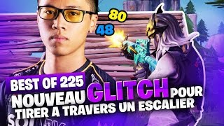 BEST OF SOLARY FORTNITE #225 ► NOUVEAU GLITCH POUR TIRER A TRAVERS UN ESCALIER