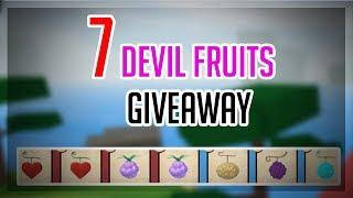 7 DEVIL FRUIT GIVEAWAY! | Ro-Piece | ROBLOX