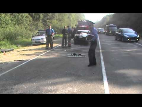 ДТП на 20 км автодороги Тверь - Старица, 27/07/2011