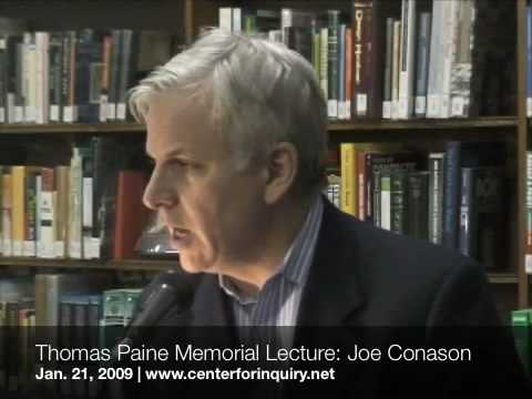 Joe Conason: Thomas Paine Memorial Lecture