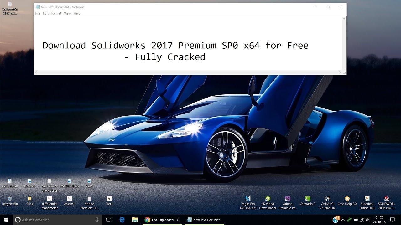 crack solidworks 2017 premium