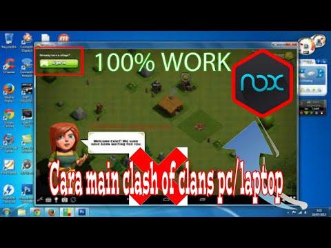 cara main game android di warnet/pc/laptop-100% work