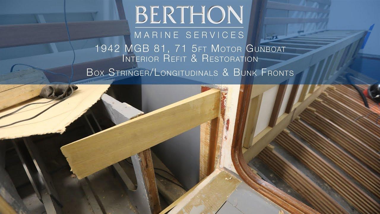 1942 MGB 81, 71.5ft Motor Gunboat refit & restoration - Part 3/5 ...