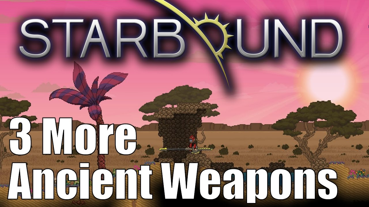 Starbound Custom Creations: Ancient Spears and Hammers!