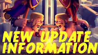 NEW UPDATE INFORMATION - clash of clans