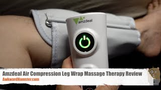 Amzdeal Air Compression Leg Wrap Massage Therapy Review