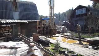 1  Начало бурения(Бурение скважин на воду в Екатеринбурге., 2014-11-12T11:03:36.000Z)