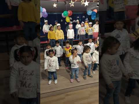 If you are happy and you know by peach blossom school toddler students performance