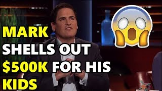 Shark Tank Mark Gives Away $500k For His Kids!