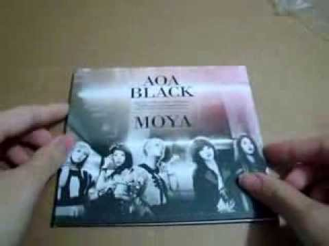 Unboxing AOA 3rd single album MOYA