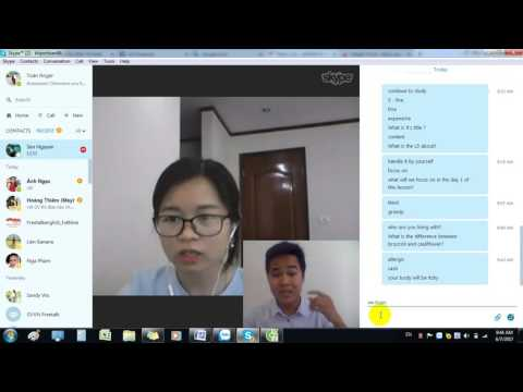 HV Mai Sen Level 2 - Studying English communication with Toan Roger