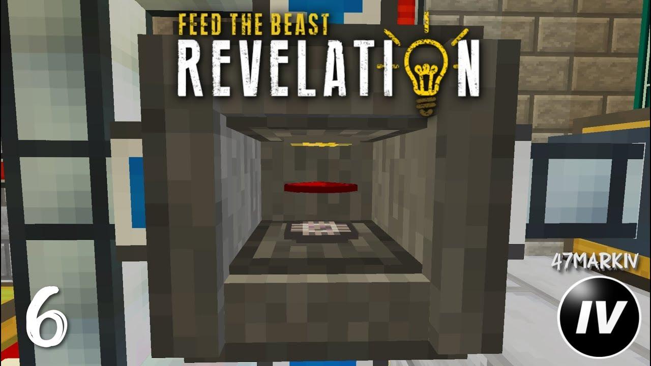 FTB Revelation - Ep 6 - Quarry & AE2 Start