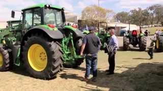 AG SHOW 2014 Toowoomba Vanderfield John Deere Manitou Hino
