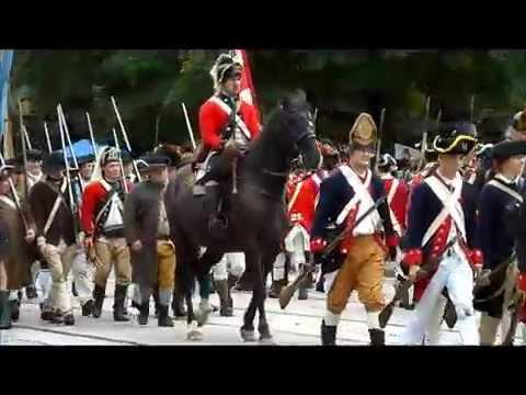 Part 1 Battle Of Germantown Revolutionary War Reenactment In Germantown, PA On October 4, 2014