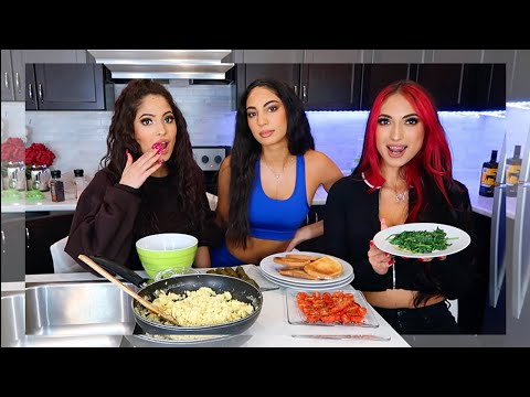 MAKE OUR EVERYDAY BREAKFAST WITH US | Amna Jude Sarah